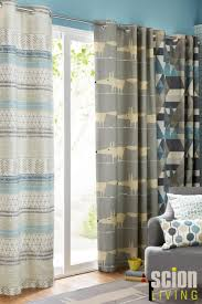 Next Bedroom Curtains Buy Scion Raita Blue Eyelet Curtains From The Next Uk Online Shop