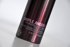 Ample Angora Volumizing Light Foam Review Shu Uemura Art Of Hair Ample Angora Just Nice Things