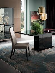 set alf italia mont noir dining room collection