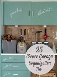 for the jettonu0027s 25 totally clever garage organization tips u0026 tricks awesome ideas especially getting everything inside during wet winter months garage organization tips a34