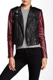 image of w118 by walter baker vikki leather jacket
