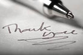 5 Keys To Writing A Thank You Note
