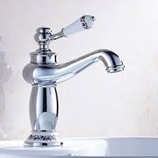 bathroom sink basin faucet deck mount bathroom sink faucet chrome single hole basin sink vanity faucet deck