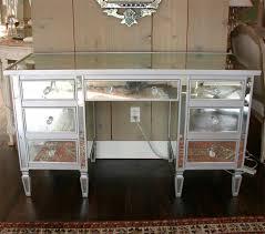 mirror vanity desk. drawer mirrored vanity desk at 1stdibs mirror