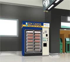 Japan Sim Card Vending Machine Unique NTT Communications To Introduce Prepaid SIM Card Vending Machine At