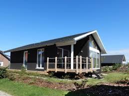 Schwarzes Dänisches Holzferienhaus Nr 5 500 M Zum Ostsee Strand