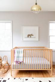 Sharon Montrose's latest nursery design, featuring her brand-new Baby Rhino  print. All