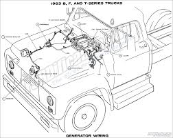 Ford truck wiring diagrams the and t series trucks generator ford wiring full size