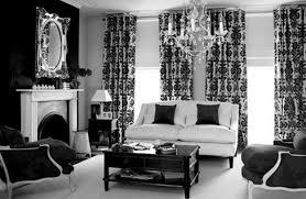 Monochrome Living Room Decorating Modern Paris Room Decor Ideas Black And White Bedroom Idolza