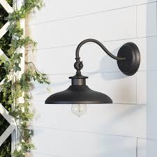 tennyson 1 light outdoor barn light