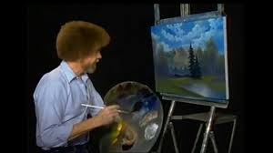 for the past week twitch has been streaming the joys of painting a pbs painting show staring bob ross that ran from 1983 to 1994