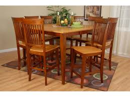 Dining Table Wood Light Oak Dining Table Great Black Leather Dining Chairs Crawford