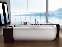 Designer Bathtub from Jacuzzi Europe by Carlo Urbinati  new clean modern  bathtubs