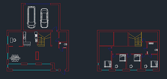 autocad how to create walls from a floorplan