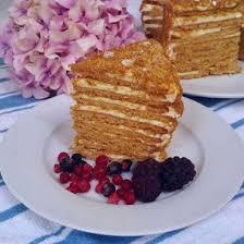 Medovik Russian Honey Cake Recipe How to make Medovik