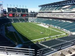 Eagles Seating Chart Lincoln Financial Field Lincoln Financial Field Section M9 Row 15 Seat 13