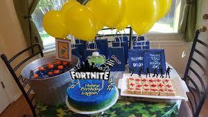 Amazoncom Gmakceder Birthday Cake Topper For Fortnite Birthday