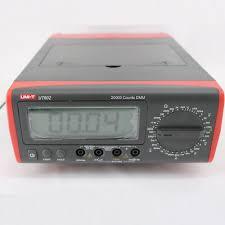 <b>Hot Sale UT802 UNI-T</b> Bench Type Digital Multimeter Automotive ...