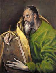 file st luke painting by el greco indianapolis museum of art