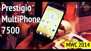 Prestigio MultiPhone 7500 - MWC 2014 ...