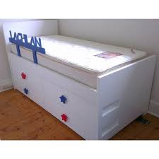 kids beds with storage. Buy Captain Kids Bed With Trundle \u0026 Drawers Online In Australia Within Beds Storage E