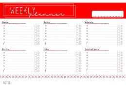 Weekly Planner Free Printable Weekly Planner Free Download
