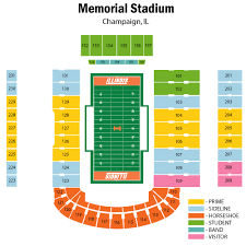 University Of Illinois Football Seating Chart Illinois Fighting Illini Football Vs Michigan Wolverines