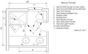Master Bathroom Dimensions Awesome Decorating