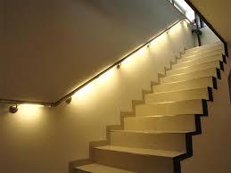 Under stairs lighting Diy Image Of Stair Handrail Lighting Classy Door Design Under Stair Storage Ideas Classy Door Design Indoor Stair