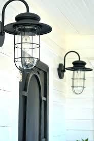 farmhouse outdoor lighting. Gorgeous Farmhouse Outdoor Lighting A Vintage Home Intended For Idea Black