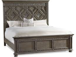 california king wood bed. Perfect King Hooker Furniture Vintage West California King Wood Panel Bed 570090260 In O