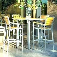 high outdoor bistro set bar ght outdoor tables patio furniture chairs pub bistro set table outdoor
