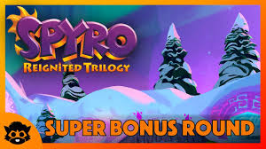 Spyro 3 (Reignited) | Part 37: <b>Super Bonus Round</b> 117% (All Gems ...