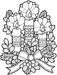 Free Tree Ornament Coloring Pages Ornaments Printable To Color