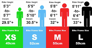 Ideal Weight Chart Sizing Bike Frame Size Height Weight Chart Chart U Pure Cycles 22