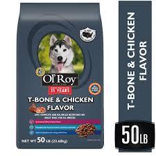 Ol Roy T Bone Chicken Flavor Dry Dog Food 50 Lb