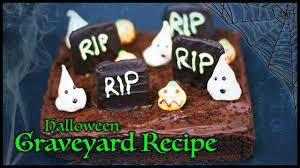 Tasty Halloween Graveyard Cake Recipe Perfect For Childrens
