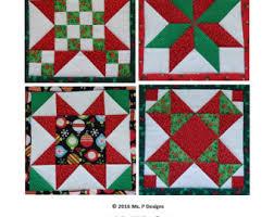 Pieced stars PDF quilt block pattern; quick pieced mix and match ... & Pieced Christmas stars PDF quilt block pattern; quick pieced mix and match stars  quilt; traditional star quilt pattern; Ms P Designs USA Adamdwight.com