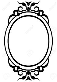 mirror frame outline. 901x1300 Mirror Frame Vector Outline