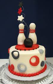 Bowling Pin Cake Decorations Bowling Party Cake The Couture Cakery 18