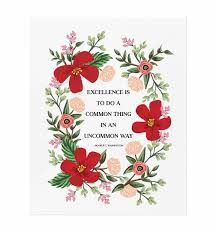 Paper Flower Quotes Washington Quote Art Print By Rifle Paper Co Made In Usa