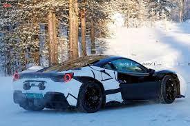 Neuer Einstiegs Ferrari Gt Könnte Im November Debütieren V6 Hybrid
