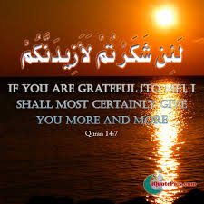 Quotes About Being Grateful New Being Grateful Quran