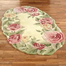stunning rose area rug roses oval lowther gold garden rose