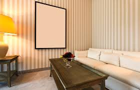 Modern Simple Wood Nightstand Table Wall Paint Design Ideas Cool