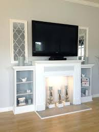 fireplace mantel shelf extension for tv fireplace mantel large decorated candlesticks banner extension