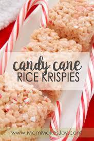 Rice Crispy Treats Designs Candy Cane Rice Krispie Treats Mom Makes Joy