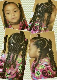 Mixed natural black girls <b>kids hair rope</b> braid pretty easy simple <b>cute</b> ...