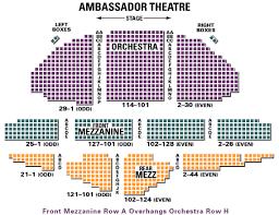 Ambassador Theatre Seating Chart Ambassador Theatre Pictures Storehourz Com