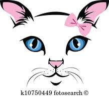 cat face clipart. Beautiful Cat Cat Face Inside Face Clipart